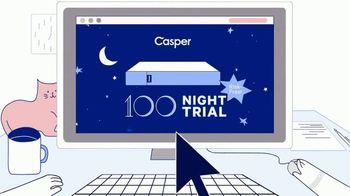 Casper TV Spot, 'New Year's: Researching' - Thumbnail 4