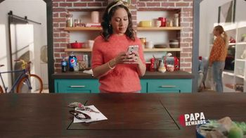 Papa John's Papa Rewards TV Spot, 'Obtén puntos más rápido' [Spanish]