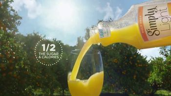 Simply Light Orange TV Spot, 'Deliciously Tempting With Half the Calories' - Thumbnail 7