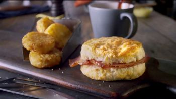 Bojangles' Breakfast Combos TV Spot, 'Country Ham, Sausage or Steak' - Thumbnail 3