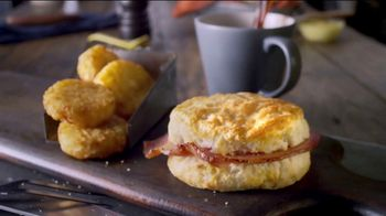 Bojangles' Breakfast Combos TV Spot, 'Country Ham, Sausage or Steak' - Thumbnail 4