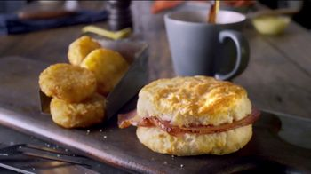 Bojangles' Breakfast Combos TV Spot, 'Country Ham, Sausage or Steak' - Thumbnail 5