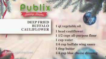 Publix Super Markets TV Spot, 'Holiday Recipes: Deep Fried Buffalo Cauliflower' - Thumbnail 4