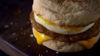 McDonald's $1 $2 $3 Dollar Menu TV Spot, 'Treat Yourself: Sausage McMuffin' - Thumbnail 3