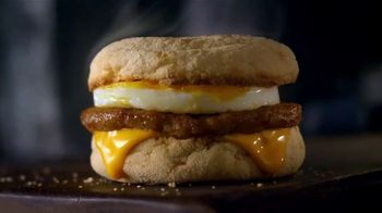McDonald's $1 $2 $3 Dollar Menu TV Spot, 'Treat Yourself: Sausage McMuffin' - Thumbnail 4