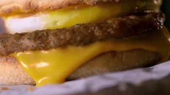 McDonald's $1 $2 $3 Dollar Menu TV Spot, 'Treat Yourself: Sausage McMuffin' - Thumbnail 7