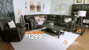 Ashley HomeStore New Year's Sale TV Spot, 'Final Week: Tambo Reclining Sectionals' - Thumbnail 5