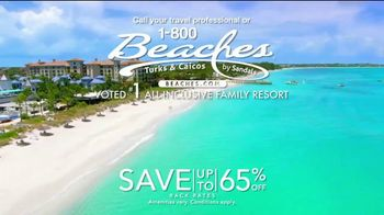 1-800 Beaches Turks and Caicos TV Spot, 'Adds Up to #1' - Thumbnail 10