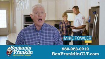 Benjamin Franklin Plumbing TV Spot, '$57 Off Any Repair' - Thumbnail 1