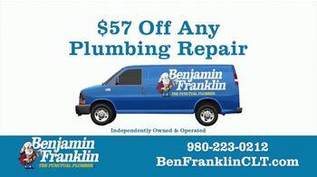 Benjamin Franklin Plumbing TV Spot, '$57 Off Any Repair' - Thumbnail 10