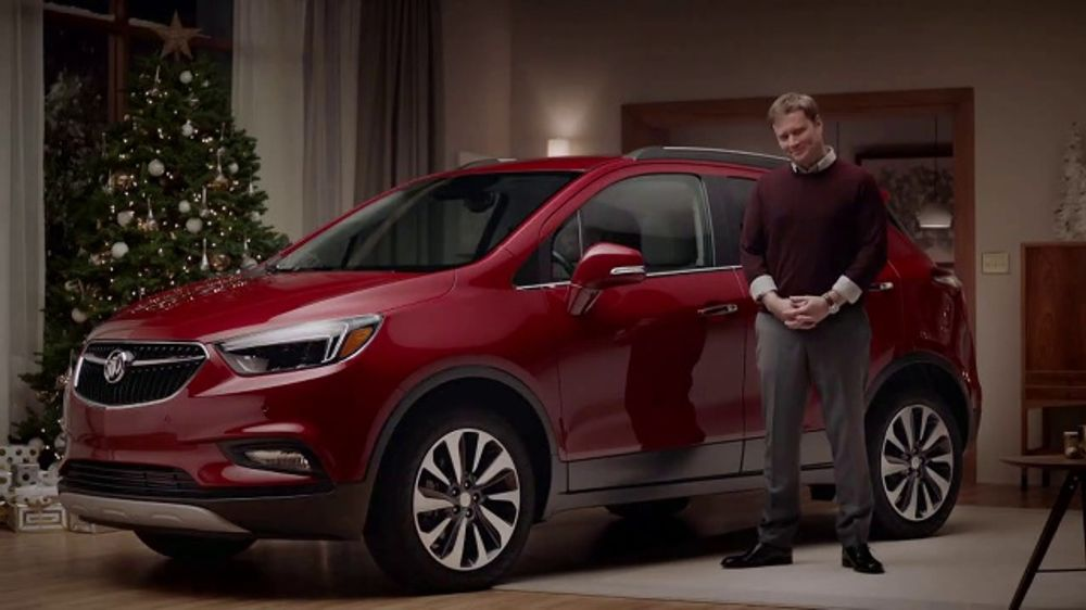 2019 Buick Encore Tv Commercial Holiday Shopping Tips Sound