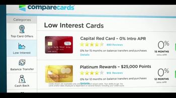 Compare Cards TV Spot, 'Credit Card Envy' - Thumbnail 9