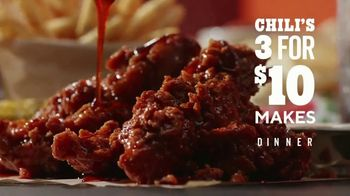 Chili's 3 for $10 TV Spot, 'Trevor Can Stay' - Thumbnail 1
