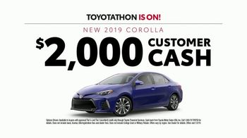 Toyota Toyotathon TV Spot, 'Year-End Savings' [T2] - 246 commercial airings