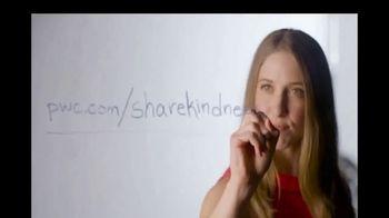 PwC TV Spot, 'One Random Act of Kindness'