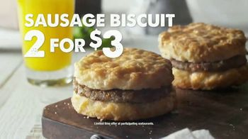 Bojangles' Breakfast Biscuits TV Spot, 'Restart Your Day: Car Wash' - Thumbnail 7