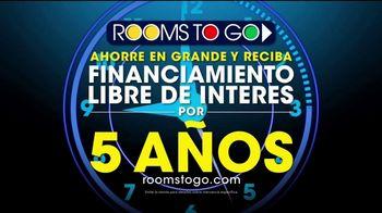 Rooms to Go TV Spot, 'Apresurese ahora mismo' [Spanish] - Thumbnail 8