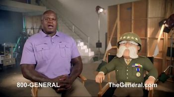 The General TV Spot, 'Strong Suits: Shaq Hedge Cutter & Zen Master' Featuring Shaquille O'Neal - Thumbnail 1
