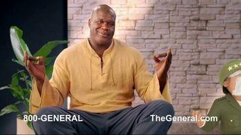 The General TV Spot, 'Strong Suits: Shaq Hedge Cutter & Zen Master' Featuring Shaquille O'Neal - Thumbnail 8