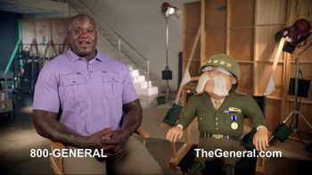 The General TV Spot, 'Strong Suits: Shaq Hedge Cutter & Zen Master' Featuring Shaquille O'Neal - Thumbnail 9