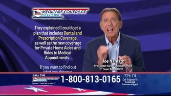 Medicare Coverage Helpline TV Spot, 'Get a Plan With Dental and Prescription Coverage' Featuring Joe Namath - Thumbnail 1