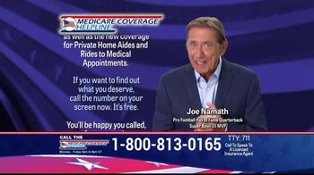 Medicare Coverage Helpline TV Spot, 'Get a Plan With Dental and Prescription Coverage' Featuring Joe Namath