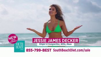 South Beach Diet TV Spot, 'Keto Friendly: Save 40 Percent' Featuring Jessie James Decker - Thumbnail 10