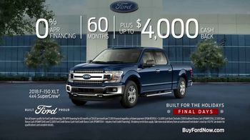 Ford Built for the Holidays Sales Event TV Spot, 'To-Do List' [T2] - Thumbnail 8