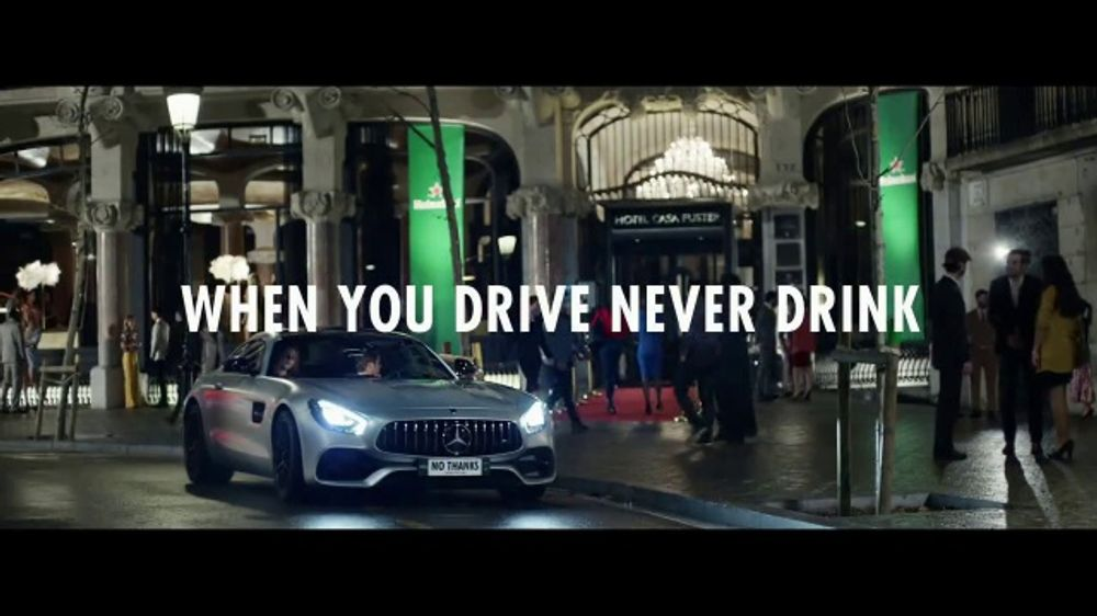 Heineken TV Commercial, 'When You Drink, Never Drive: No Compromise' Ft. Nico Rosberg