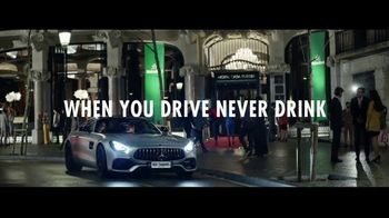 Heineken TV Spot, 'When You Drink, Never Drive: No Compromise' Ft. Nico Rosberg