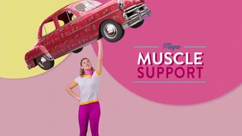 VitaFusion Women's TV Spot, 'Mega Muscle Support'