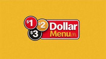 McDonald's $1 $2 $3 Dollar Menu TV Spot, 'Best Bites' - Thumbnail 2