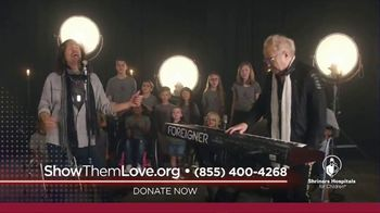 Shriners Hospitals for Children TV Spot, 'I Want to Know What Love Is' Featuring Foreigner
