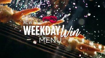 Red Lobster Weekday Win Menu TV Spot, 'Five Days, Five Deals' - Thumbnail 2