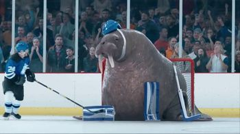 GEICO TV Spot, 'Walrus Goalie'