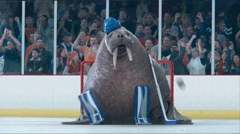 GEICO TV Spot, 'Walrus Goalie' - Thumbnail 5