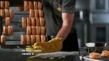Hardee's 2 3 More Menu TV Spot, 'Breakfast Sandwiches' - Thumbnail 2