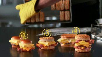 Hardee's 2 3 More Menu TV Spot, 'Breakfast Sandwiches' - Thumbnail 7