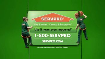 SERVPRO TV Spot, 'The Cleanup Specialists' - Thumbnail 10
