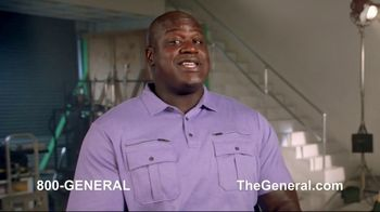 The General TV Spot, 'Strong Suits' Featuring Shaquille O'Neal - Thumbnail 4