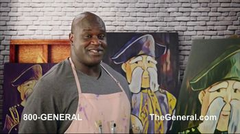 The General TV Spot, 'Strong Suits' Featuring Shaquille O'Neal