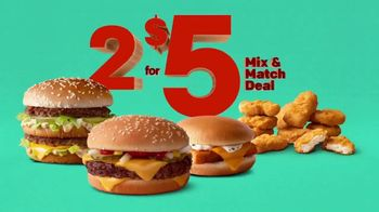 McDonald's 2 for $5 Mix & Match Deal TV Spot, 'Crank Things Up' - Thumbnail 2