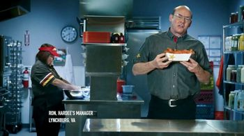 Hardee's Southern-Style Tender Sandwich TV Spot, 'Crispy Yet Juicy' Featuring David Koechner - Thumbnail 2