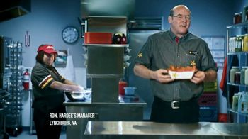 Hardee's Southern-Style Tender Sandwich TV Spot, 'Crispy Yet Juicy' Featuring David Koechner - Thumbnail 3