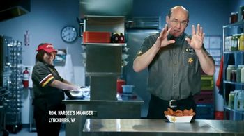 Hardee's Southern-Style Tender Sandwich TV Spot, 'Crispy Yet Juicy' Featuring David Koechner - Thumbnail 4