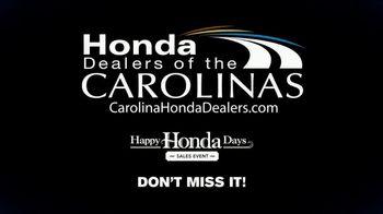 Happy Honda Days TV Spot, 'Last Chance: Every New Honda' [T2] - Thumbnail 8