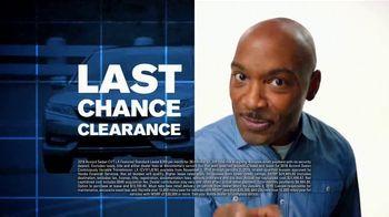 Happy Honda Days TV Spot, 'Last Chance: Every New Honda' [T2] - Thumbnail 5