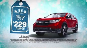 Happy Honda Days TV Spot, 'I Like It: 2018 CR-V' [T2] - Thumbnail 2
