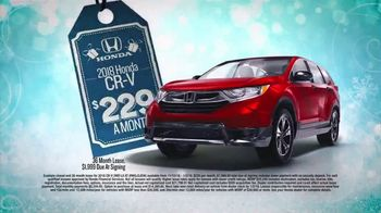 Happy Honda Days TV Spot, 'I Like It: 2018 CR-V' [T2] - Thumbnail 4