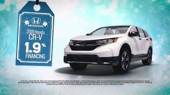 Happy Honda Days TV Spot, 'I Like It: 2018 CR-V' [T2] - Thumbnail 5